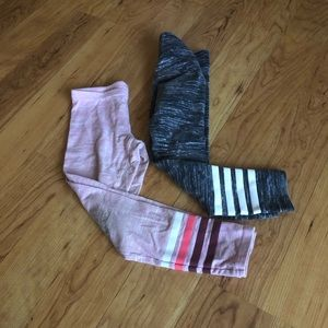 Old navy leggings 6-7 (2 pair)